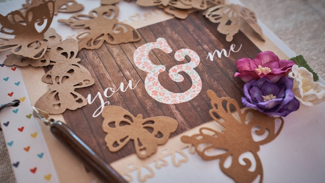 You and me, wedding planning book